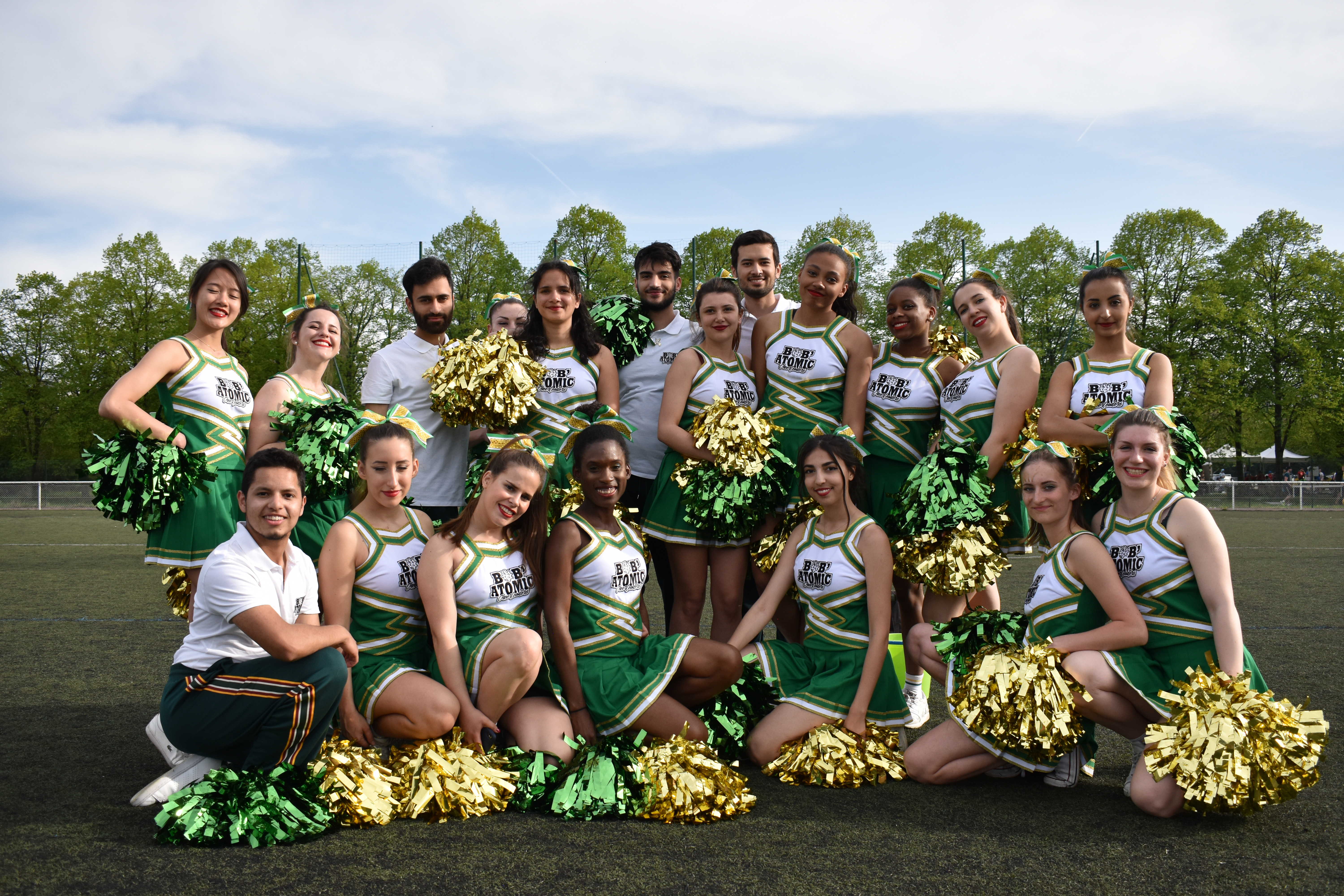 Bob'Atomic, les cheerleaders médecine du campus de Bobigny